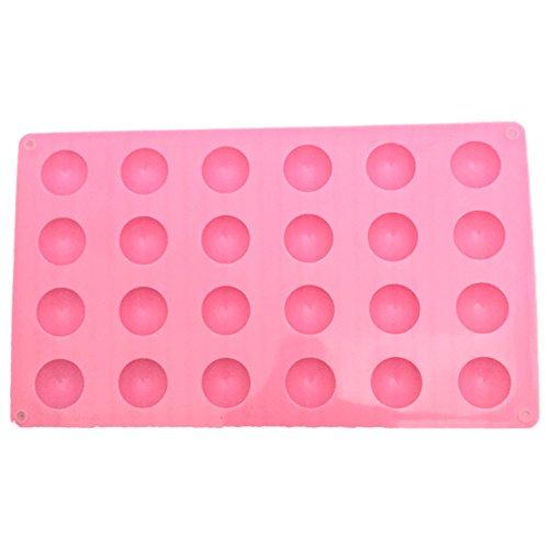 シリコン モールド 使いやすい ベーシック シンプル 型 / 楕円 まる 長方形 半球 四角 / レジン クレイ クラフト / ハンドメイド アクセサリー 製作 (半球 形)