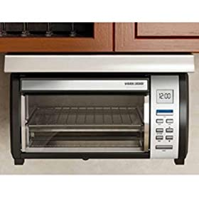New Applica 4 Slice Toaster Oven Black & Decker Spacemaker Plus Toaster Oven Stainless Steel Design
