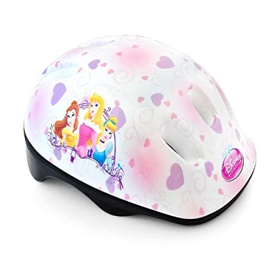 Disney Princess Children Girls Bicycle Helmet Adjustable from 50 to 56 cm by Relaxdays