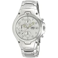 Timex E Class Chronograph Silver Dial Men's Watch - T27881