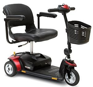 Go-Go Elite Traveller 3-Wheel Travel Scooter New by Pride Mobility+ FREE ACCESSORIES