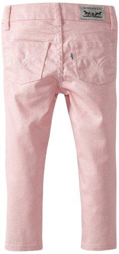 凑单品:Levi's 李维斯 Joelle Denim Legging 女童牛仔裤(2~6岁)美国亚马逊