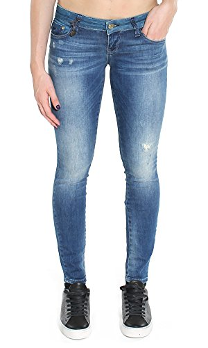 ONLY 15119570 COTAL L.32 MEDIUM BLUE DENIM JEANS Donna MEDIUM BLUE DENIM 29