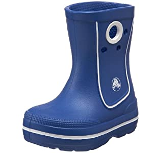 Blue Crocs Junior/Youth Kids Crocband Jaunt Wellies