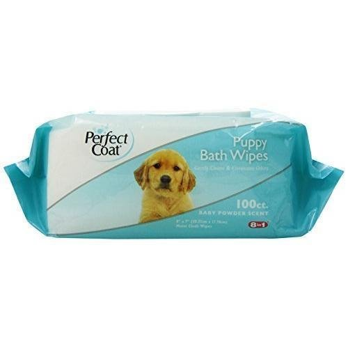 8in1-perfect-coat-bath-wipes-mild-formula-delicate-skin-and-coat-for-puppy-with-aloe-aera-and-lanoli