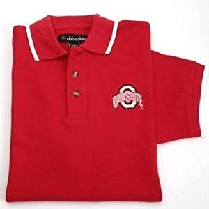 Ohio State Buckeyes Tournament Tipped Polo by SportShack INC