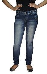 BK Black Women's Jeans (LDNRW1429901_Blue_34)