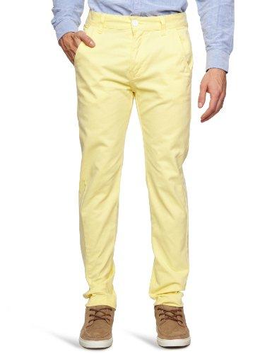 Bellfield MTRS-11178ST Slim Men's Trousers Straw W30 INxL32 IN
