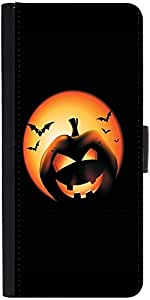 Snoogg Halloween Pumpkindesigner Protective Flip Case Cover For Lg G4