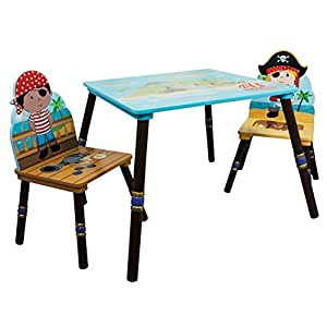 Fantasy Fields Pirates Island Table and Set of 2 Chairs   A available at Amazon for Rs.91280