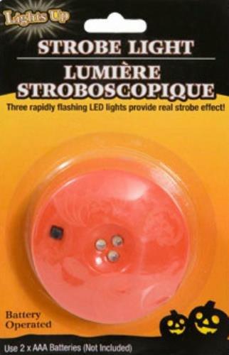Led Strobe Light For Pumpkin Carving