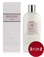 Ragdale Hall Relax Velvet Bath & Body Milk 400ml
