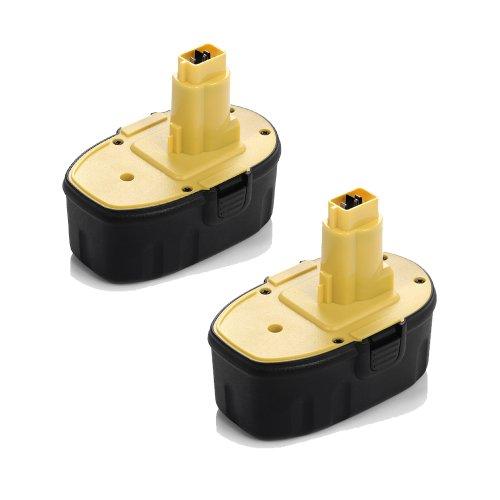 Batterie 18v 3300mah ni-mh remplace DEWALT dw9095 dw9096 dw9098 de9503