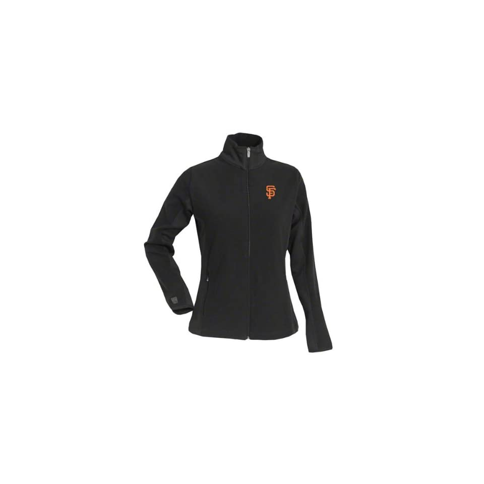 San Francisco Giants Womens Sleet Full Zip Fleece Jacket