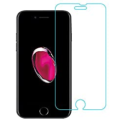Apple iPhone 7 Plus AirGuard Tempered Glass 9H Premium Curved Edge, 0.3 mm HD Crystal Clear Glass Screen Protector For Apple iPhone 7 Plus.