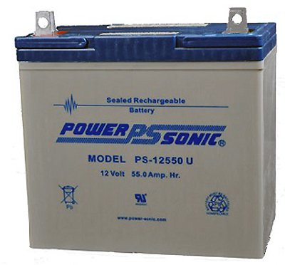 Ps-12550 12V 55Ah Sla Battery For 21St Century 1Bb