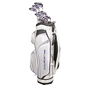 New Cobra Golf Baffler XL Ladies Complete Set with Bag Graphite Ladies Flex by Cobra Golf