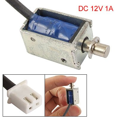 Pull Type Open Frame Actuator Electric Solenoid Dc 12V 1A