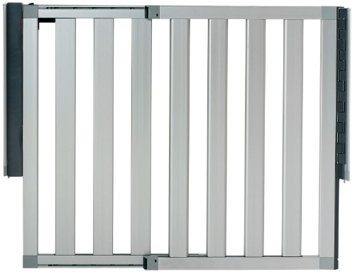 munchkin-loft-aluminum-infant-safety-gate-silver