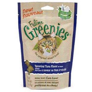 Feline Greenies 2.5 oz Bag Tempting Tuna