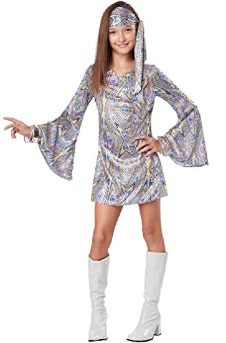 [8eighteen Dancing 70s Disco Darling Child Costume] (70s Punk Costumes)