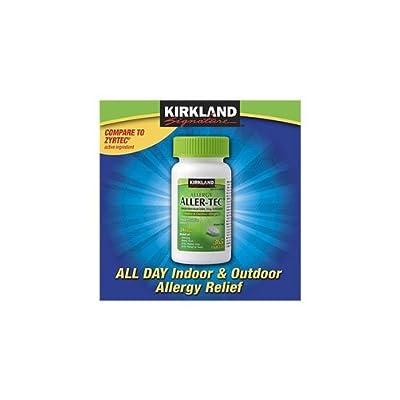 Kirkland Signature Aller-Tec Cetirizine Hydrochloride Tablets, 10 mg
