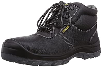 Safety Jogger BESTBOY, Unisex - Erwachsene Arbeits & Sicherheitsschuhe S3, schwarz, (black BLK), EU 36