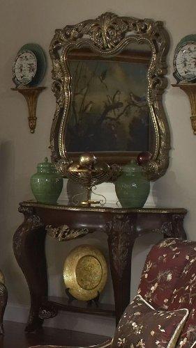 Cheap Imperial Court Console Table & Wall Mirror – Aico 79223-40C (B005LWSU72)