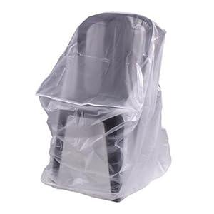 probache housse de protection pour chaises de jardin ou fauteuils empilables 60x60x110 cm. Black Bedroom Furniture Sets. Home Design Ideas