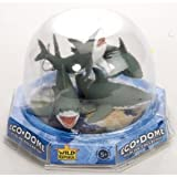 Eco Dome Shark Family: Realistic 4 piece Animal Figure Set