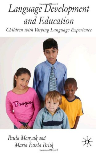 Language Development And Education: Children With Varying Language Experiences front-779539