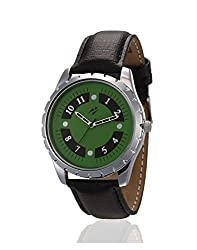 Yepme Temon Mens Watch - Green/Black -- YPMWATCH2166