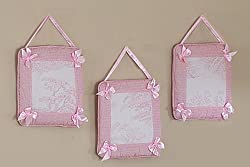 JoJo Designs Wall Hanging - Vintage French Pink Toile