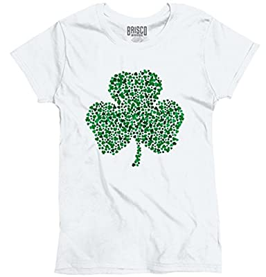 St. Patrick's Day Green Shamrock Ladies T-Shirt