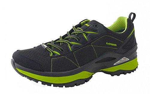 Lowa uomo scarpe outdoor Ferrox GTX Lo 310610 - Sintetico|Lowa NXT|sintetico, 42, Nero e limone