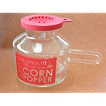 Catamount Glassware Classic Design Microwave Corn Popper