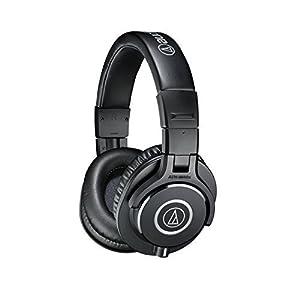 Audio-Technica ATH-M40x Professional Studio Monitor Headphones (Certified Refurbished)