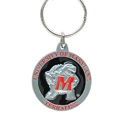 Buy College Team Logo Key Ring - Maryland Terrapins by Siskiyou