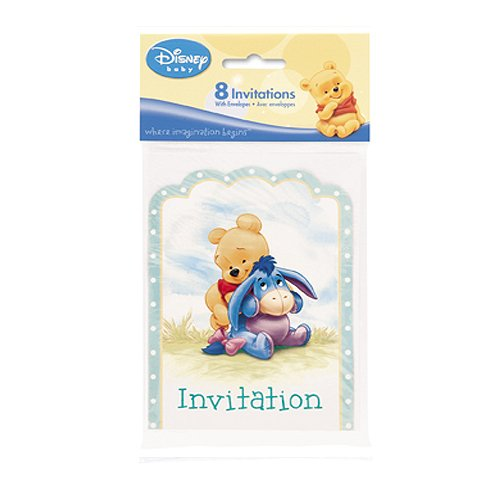 winnie the pooh baby shower invitations in greeting cards party