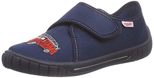 SuperfitBILL - Pantofole basse Bambino , Blu (Blau (OCEAN 80)), 32