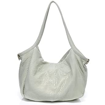 Vicenzo Joan Elephant Grain Handbag