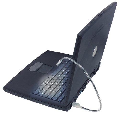 MANHATTAN USB Flex Light Beleuchtet dezent Ihre Tastatur ohne Andere zu stoeren