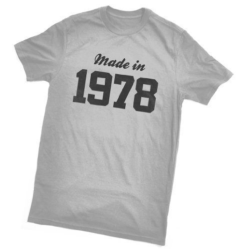 Made in 1978 T-Shirt - fun birthday gift - wrapping