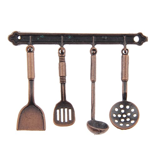 miniature bronze metal kitchenware home kitchen accessories