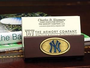 New York Yankees Team Business Card Holder MLB Baseball Fan Shop Sports Team... by Memory Company