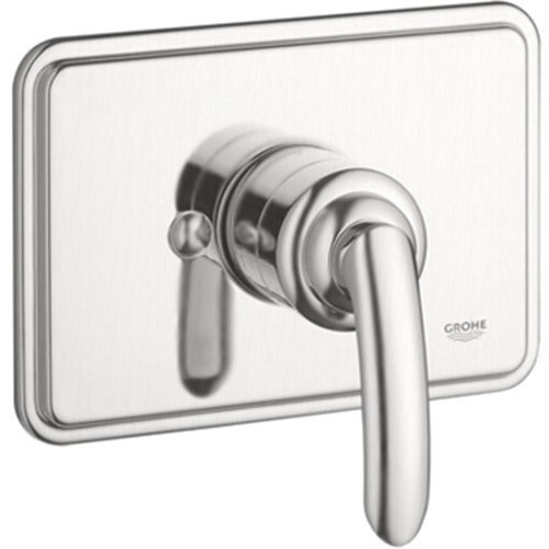 Grohe Talia 1-Handle Grohsafe Pressure Balance Valve Trim Kit In Brushed Nickel (Valve Not Included) front-536186