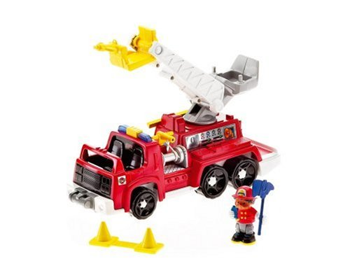 Fisher-Price World of Little People Michael And His Rescue Rig