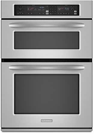 KitchenAid Architect Series II KEMS308SSS 30 Microwave Combination Wall Oven, Convection, Self Cln