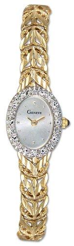 Geneve Mini 14k Solid Gold Diamond Womens Watch W08087