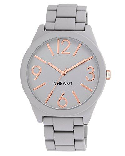 nine-west-para-mujer-reloj-infantil-de-cuarzo-con-esfera-analogica-gris-y-gris-pulsera-de-plata-de-n